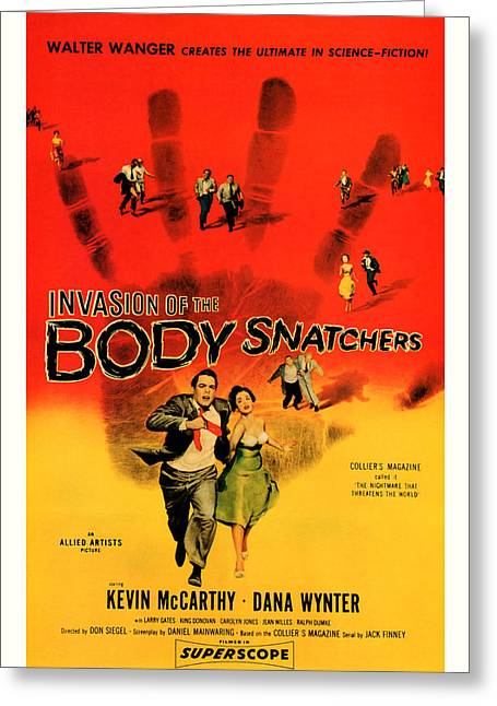 The Invasion Of The Body Snatchers 1956 Greeting Card