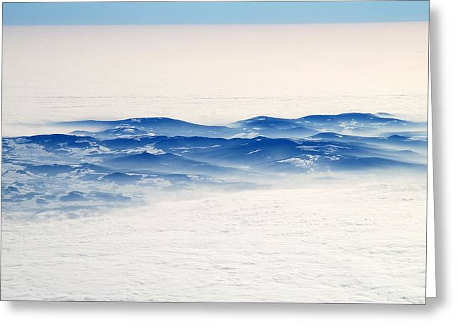 The Sea Of Clouds Greeting Card