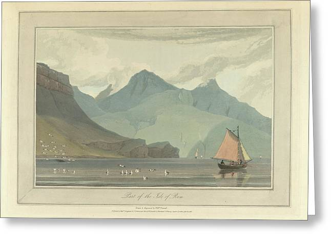 The Isle Of Rum Greeting Card by British Library