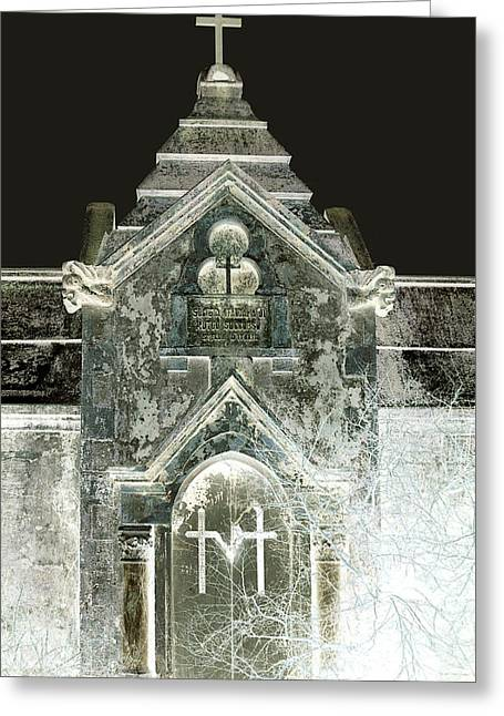 Greeting Card featuring the photograph The Italian Vault 2 by Terry Webb Harshman