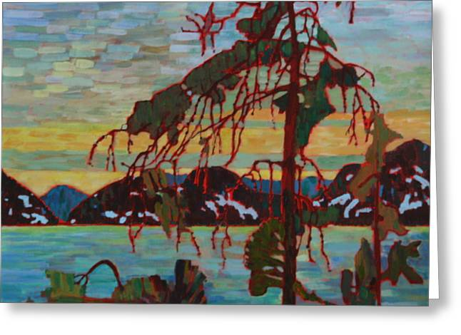 The Jack Pine After Tom Thomson Greeting Card