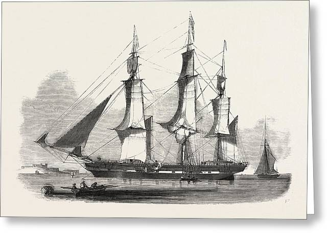 The James Booth, Aberdeen Clipper Greeting Card