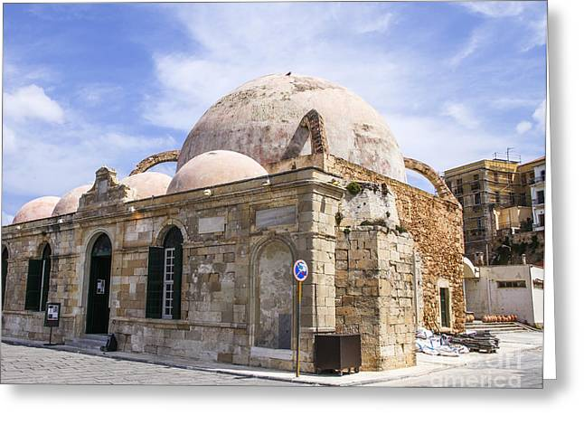 The Janissaries Mosque  Greeting Card by Patricia Hofmeester