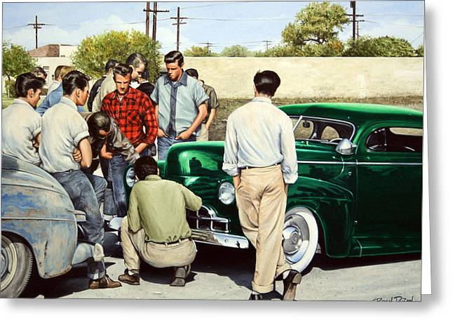 The Jesse Lopez '41 Ford Greeting Card