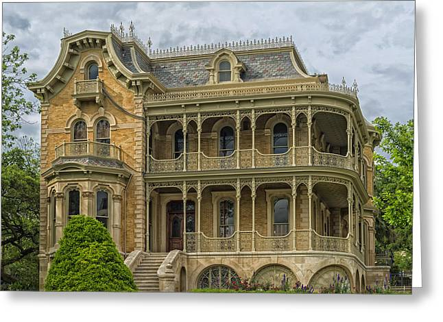 The John Bremond House Of Austin Greeting Card by Mountain Dreams
