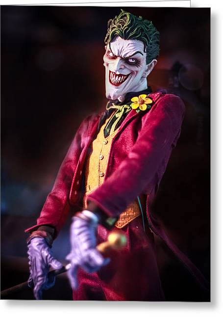 Greeting Card featuring the photograph The Joker Dummy by Stwayne Keubrick