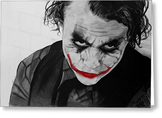 The Joker Greeting Card by Robert Bateman