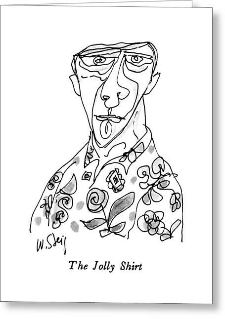 The Jolly Shirt Greeting Card