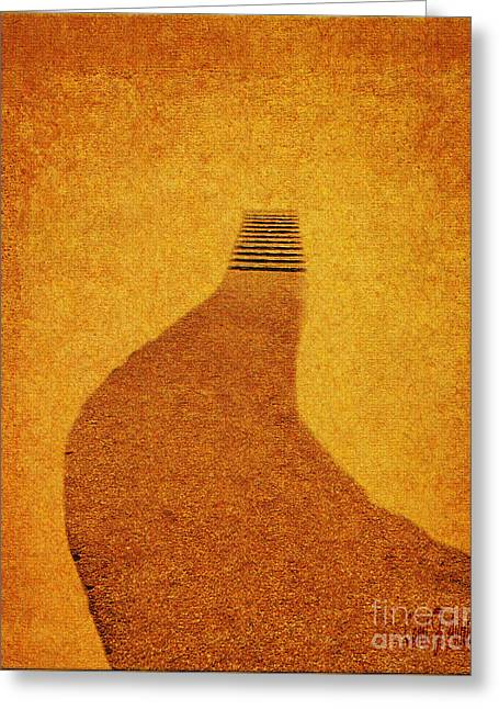 Pathway Wall Art The Journey Greeting Card