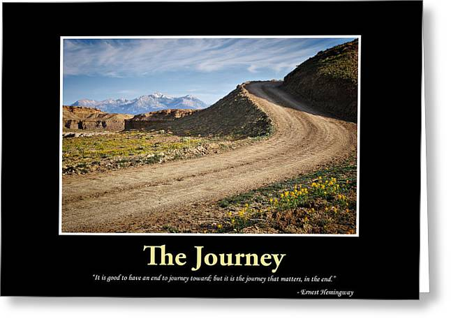 The Journey - Inspirational Art Greeting Card