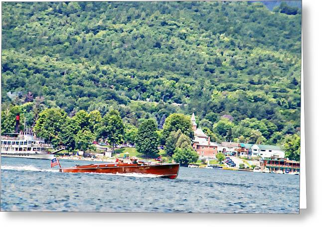 The Jug On Lake George Greeting Card
