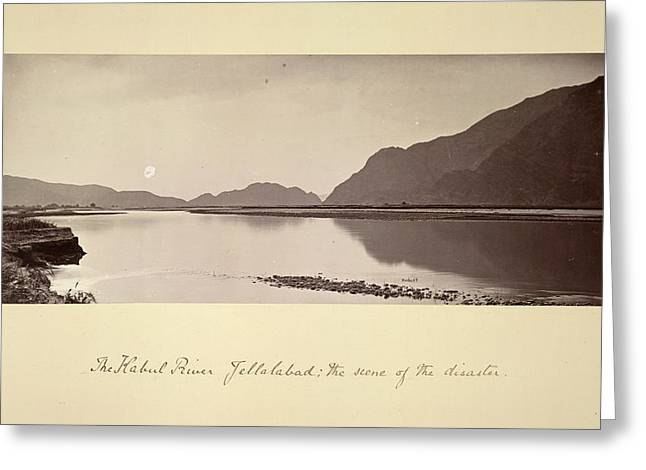 The Kabul River Greeting Card by British Library