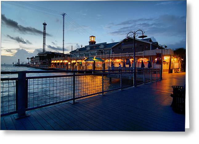 The Kemah Boardwalk Greeting Card