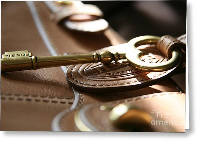 Greeting Card featuring the photograph The Key II by Lynn England