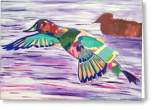 The King Canvasback Greeting Card