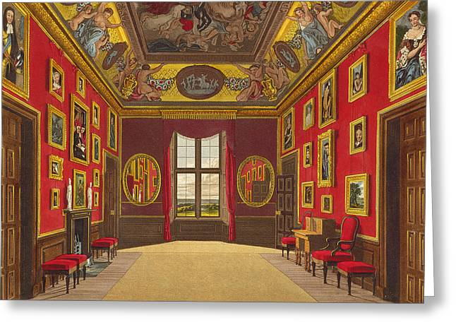 The Kings Closet, Windsor Castle Greeting Card