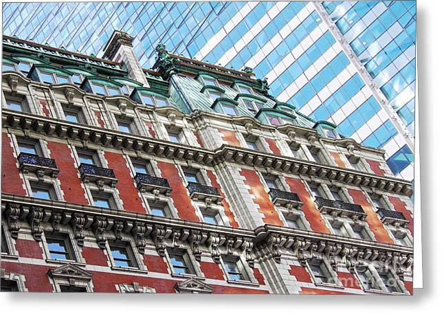 The Knickerbocker Hotel Greeting Card by Sarah Loft