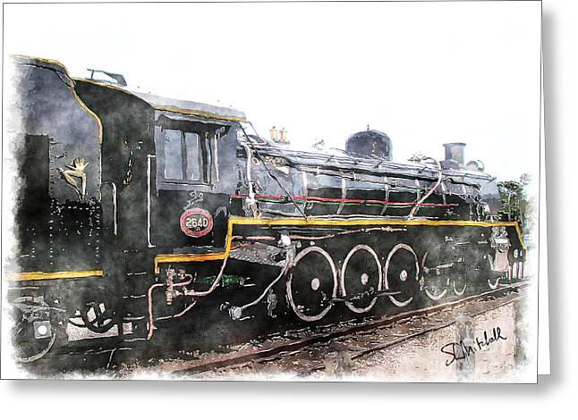 The Knysna Train Greeting Card