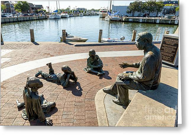 The Kunta Kinte-alex Haley Memorial In Annapolis Greeting Card