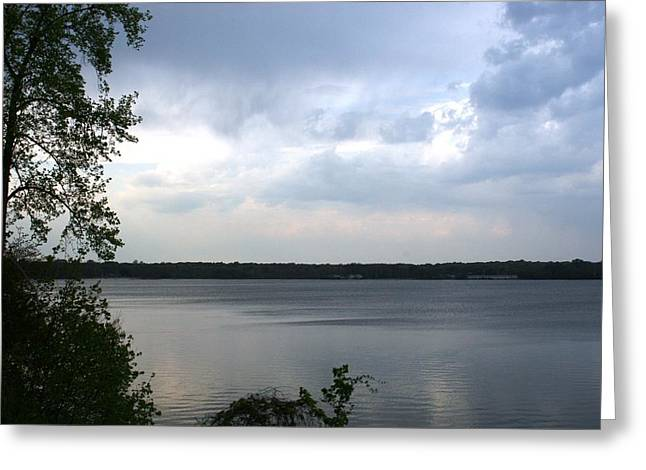 The Lake House  Greeting Card by Paul SEQUENCE Ferguson             sequence dot net