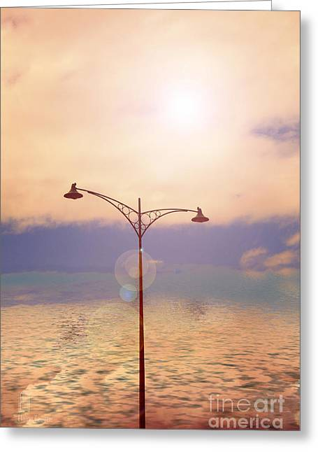 The Lampost Greeting Card