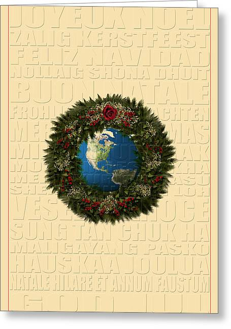 The Language Of Christmas 2 Greeting Card