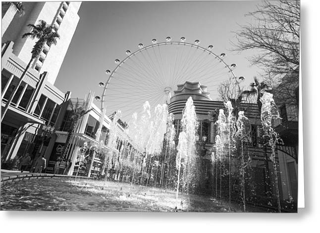 The Las Vegas High Roller Greeting Card by Susan Stone