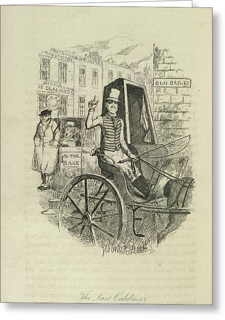 The Last Cabdriver Greeting Card by British Library