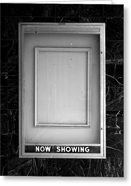 The Last Picture Show Greeting Card by Vince  Risner