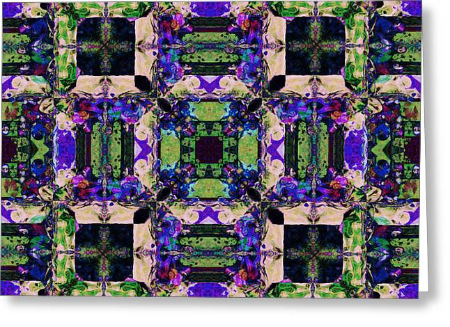 The Last Supper Abstract 20130130m128 Greeting Card by Wingsdomain Art and Photography
