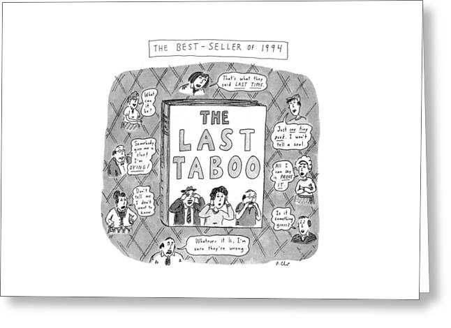 The Last Taboo Greeting Card