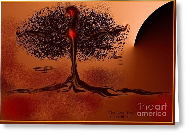 The Last Tree Greeting Card
