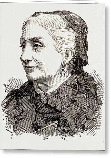 The Late Duchess Of Montpensier Greeting Card by Litz Collection