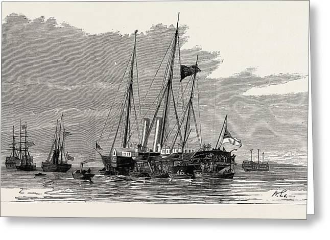 The Late Duke Of Albany The Royal Yachts Osborne Greeting Card