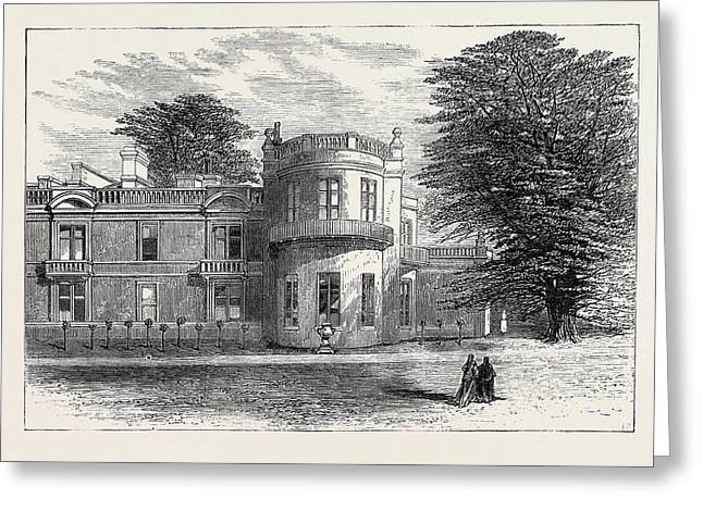 The Late Emperor Napoleon IIi Camden Place Exterior View Greeting Card