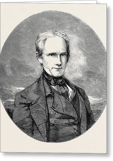 The Late Henry Clay Greeting Card by English School