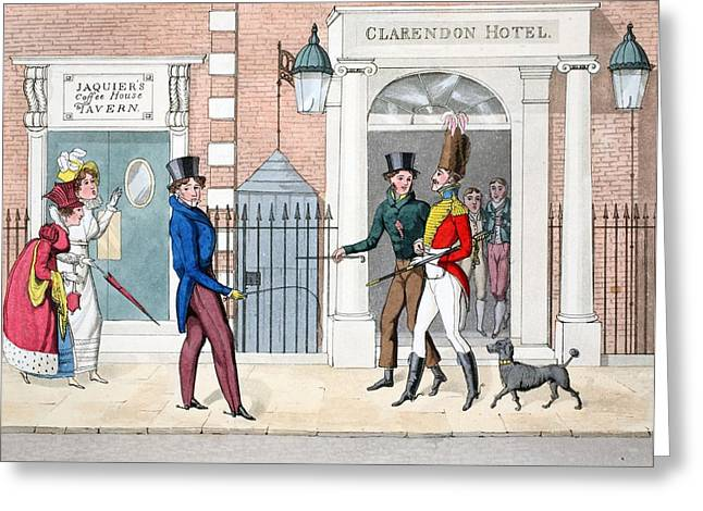 The Leech, Illustration Greeting Card by Daniel Thomas Egerton
