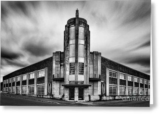 The Leyland Building  Greeting Card by John Farnan