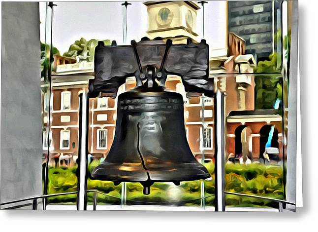 The Liberty Bell Greeting Card