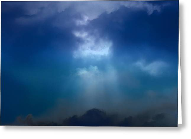 Light Above The Storm Greeting Card