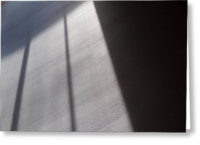 Greeting Card featuring the photograph The Light From Above by Steven Huszar
