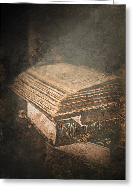 The Light Of Knowledge Greeting Card by Loriental Photography
