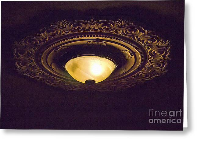 The Light Of My Life - La Luz De Mi Vida Greeting Card by Al Bourassa