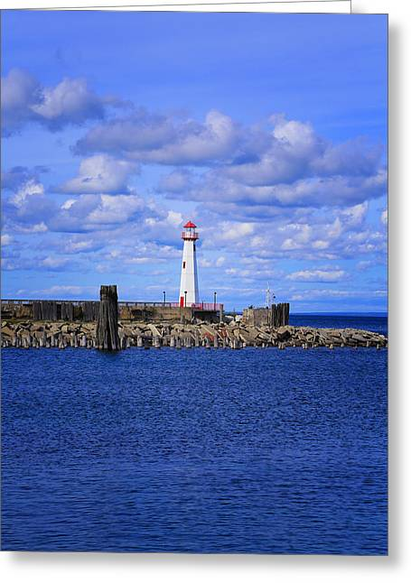 The Light Of St Ignace Greeting Card