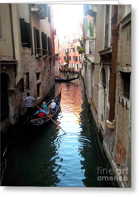 The Light Of Venice Greeting Card
