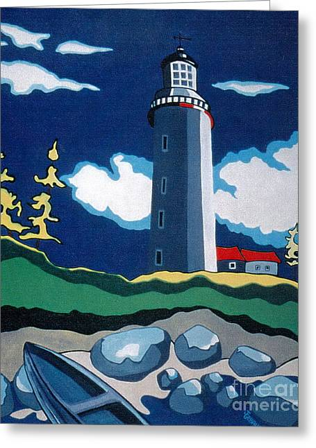The Lighthhouse Greeting Card