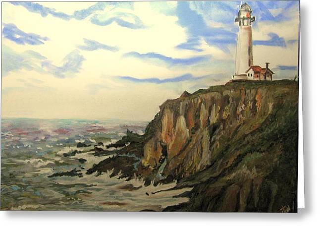 The Lighthouse. Greeting Card
