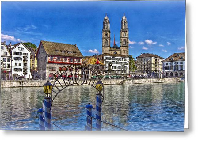 The Limmat City Greeting Card