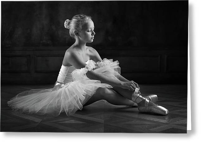 The Little Ballerina 1 Greeting Card