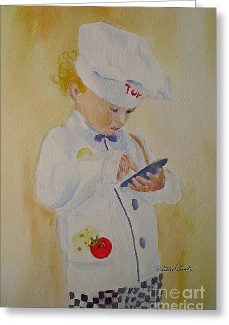 The Little Chef Greeting Card